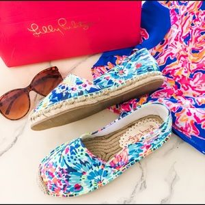 New in Box Lilly Pulitzer Espadrilles